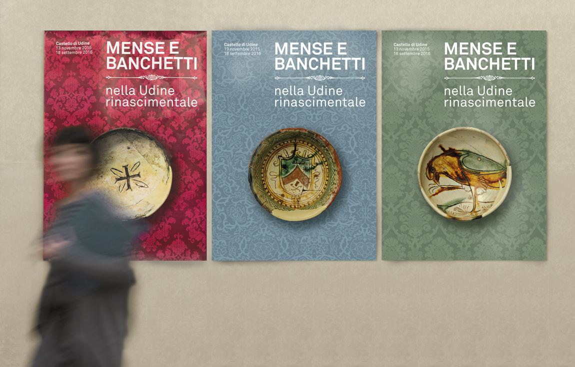 MENSE E BANCHETTI poster